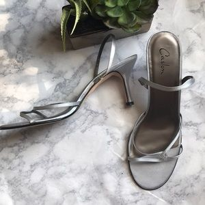 Caslon Silver Evening/Formal Sandals - Size 10